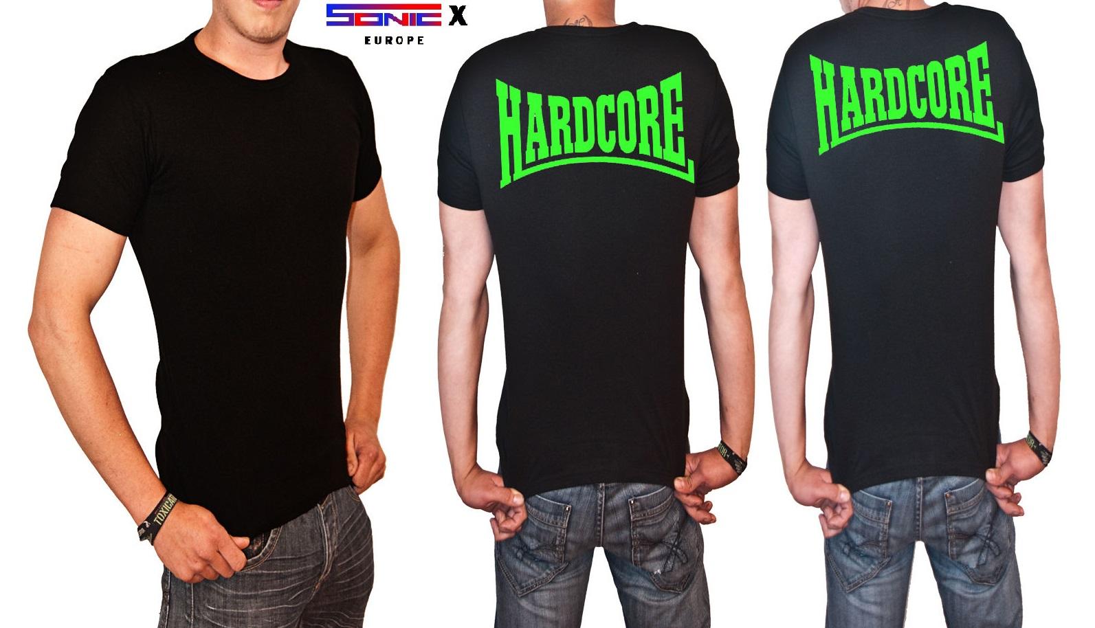 "T-Shirt von SONIC X Model "" HARDCORE"""