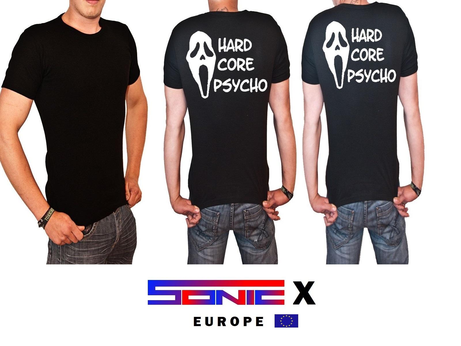 "T-Shirt von SONIC X Model "" HARDCORE PSYCHO"""