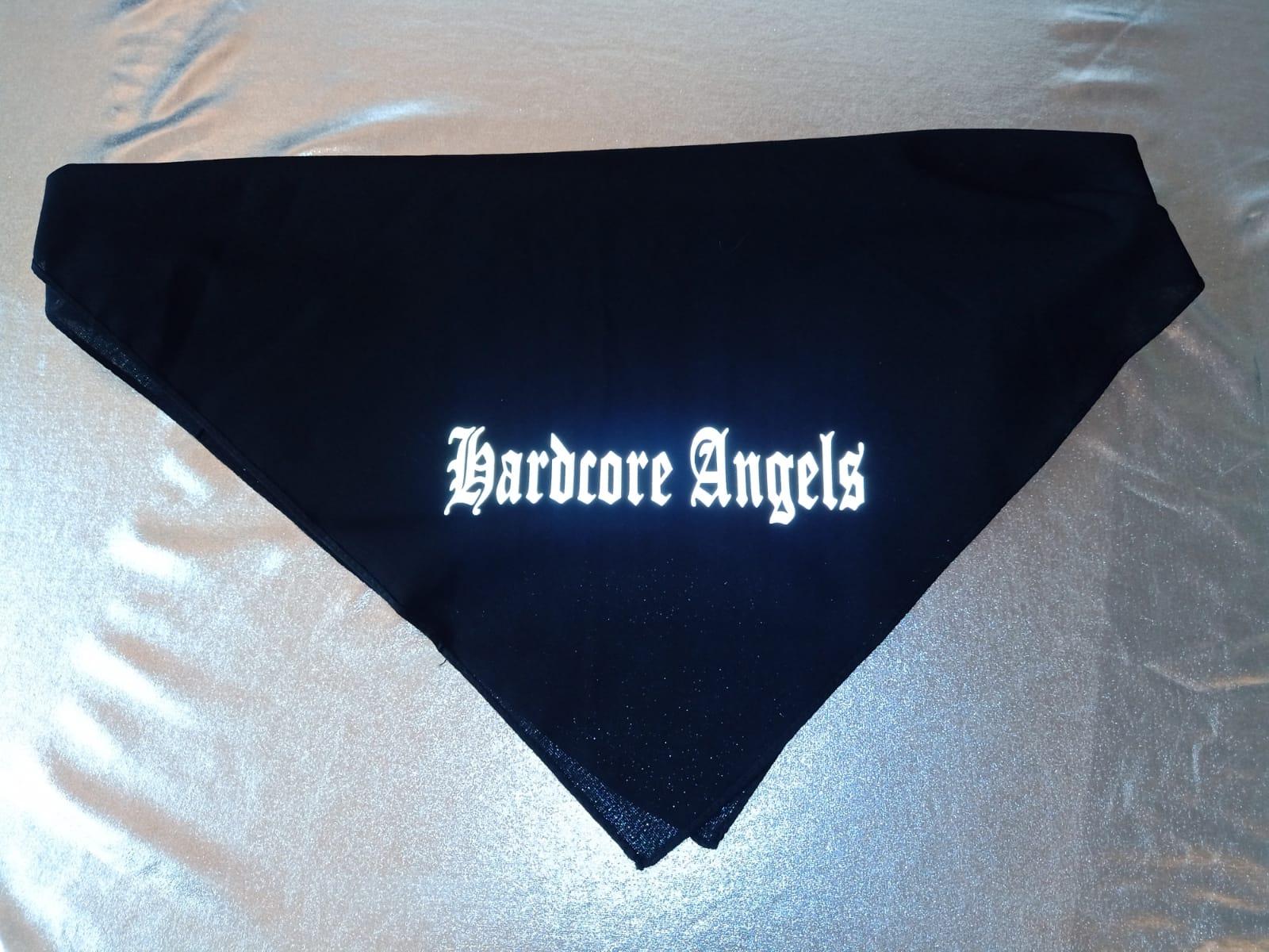 """Bandana / Halstuch  von Hardcore Trip X """" Hardcore Angels""""  Hardcore Shop Style in verschiedenen Farbkombinationen"""
