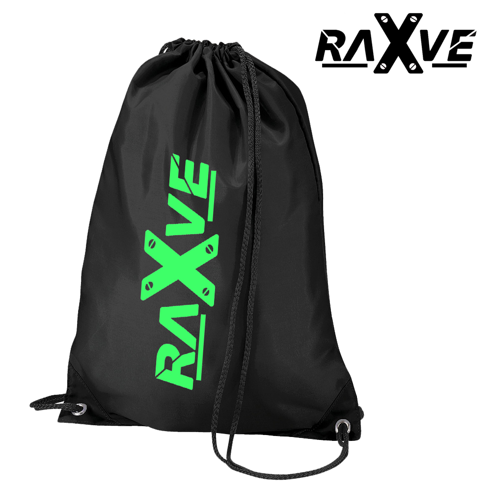 Turnbeutel von RAVE X  Rave Wear Stye in verschiedenen Farbkombinationen  Style 2