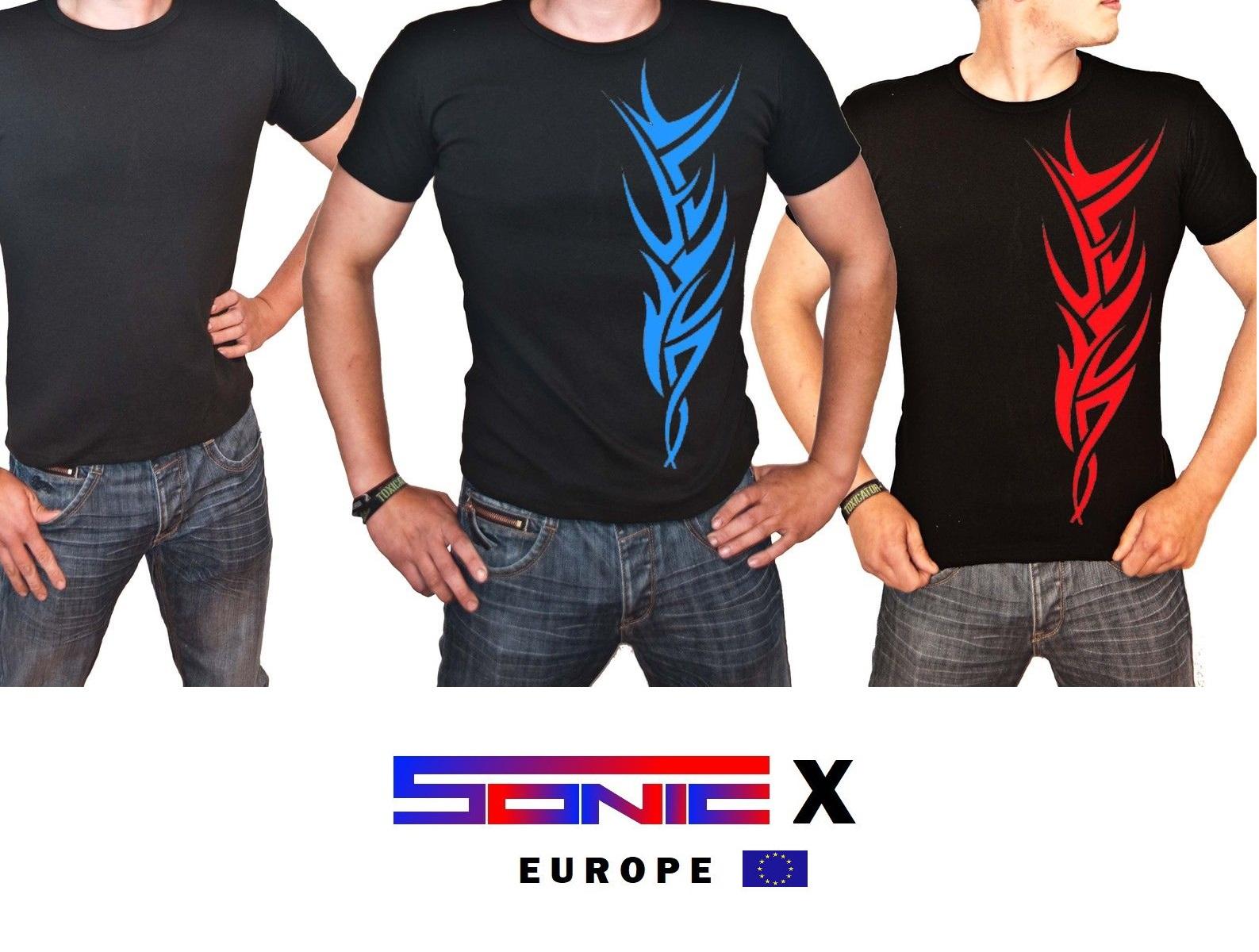 "T-Shirt von SONIC X Model "" TATTOO"""