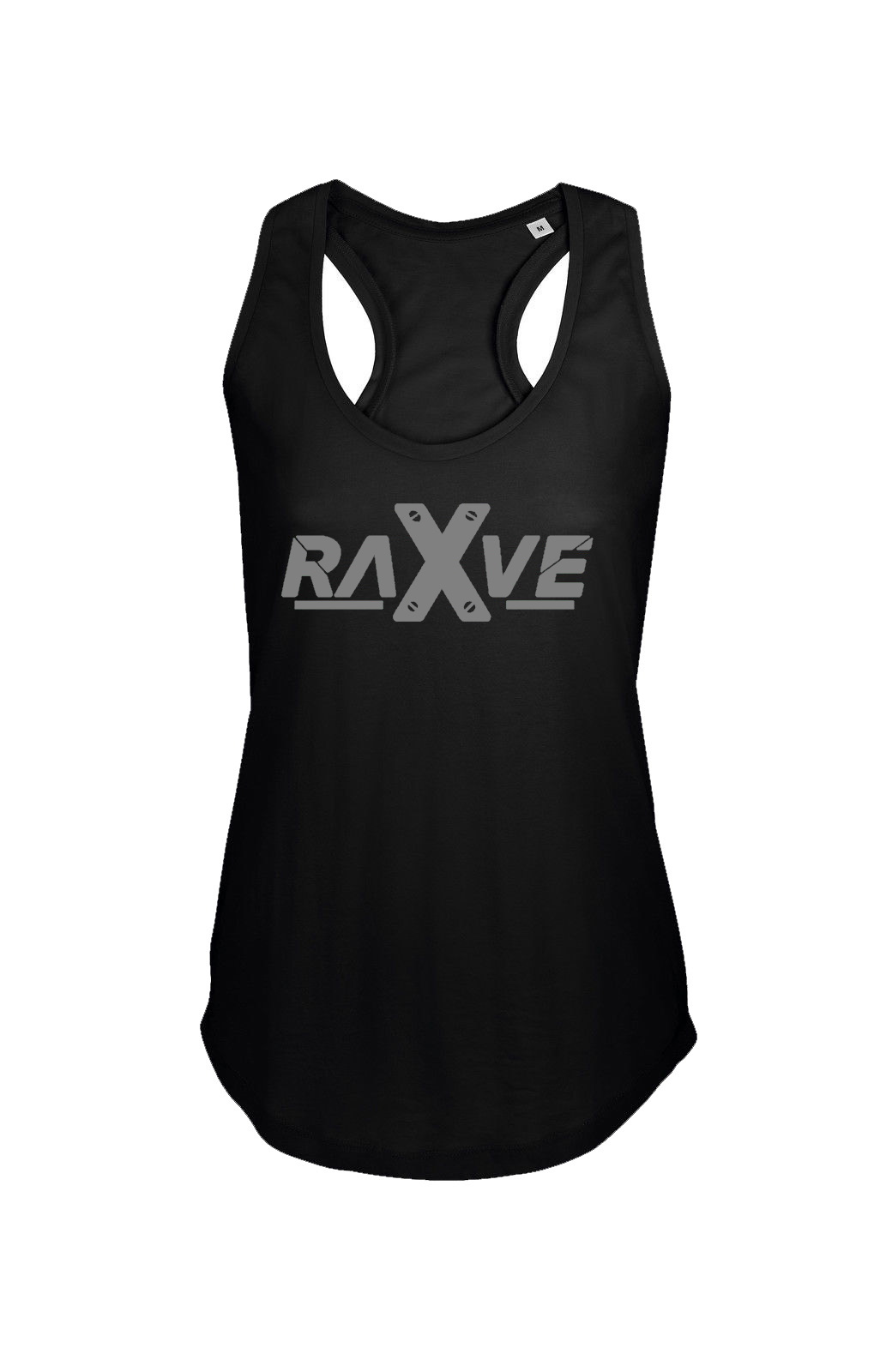 """Women Tank Top von RAVE X Model """"RAVE x 2k21"""" in Schwarz mit Weiss oder Relfex"""