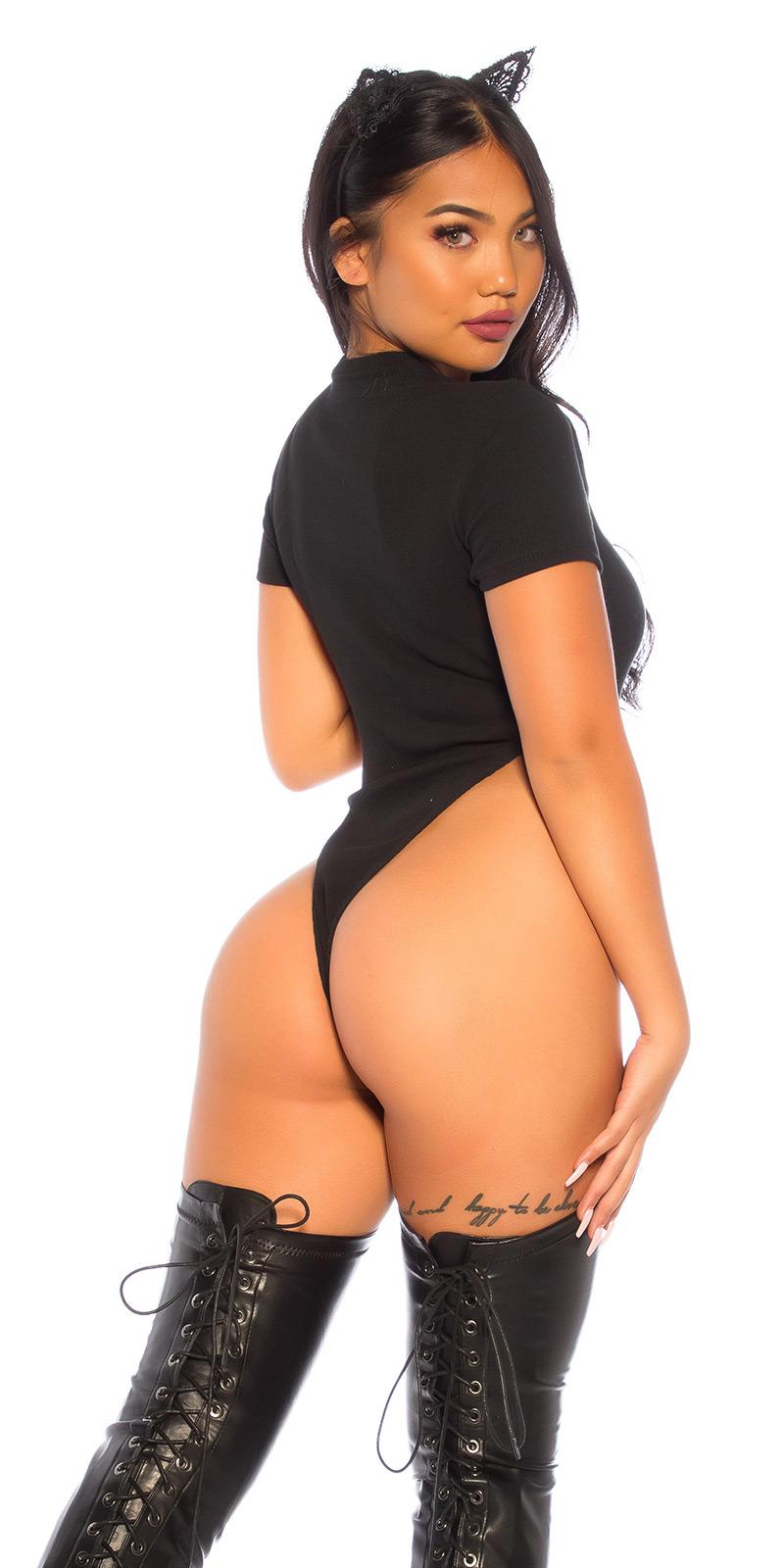 SEXY BODY HIGH CUT! MIT SCHNÜRUNG von In Stylefashion