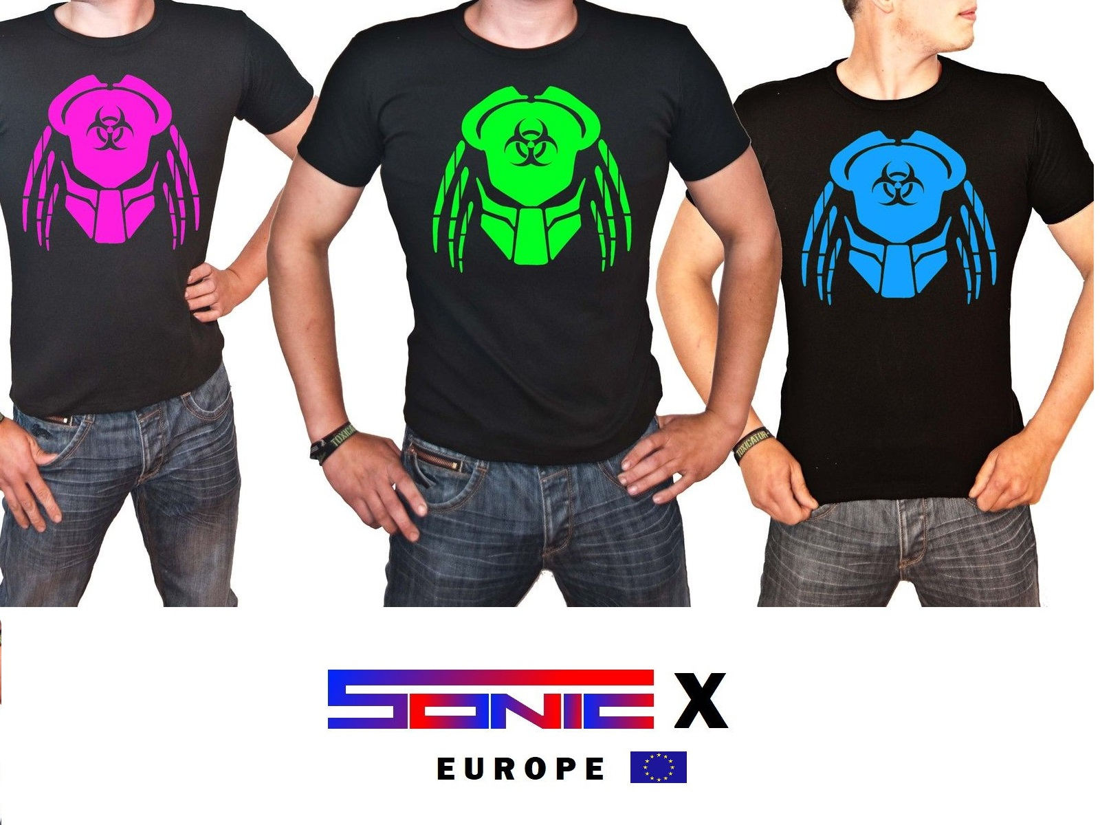 """T-Shirt von SONIC X Model """" PREDACTOR"""""""
