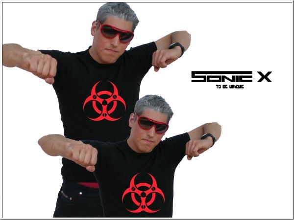 """T-Shirt von SONIC X Model  """"BIOHAZARD CYBER"""""""