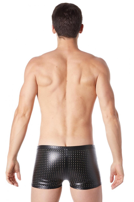 Schwarze Herren BOXER SHORT TENDER  von LookMe im Gaywear Style