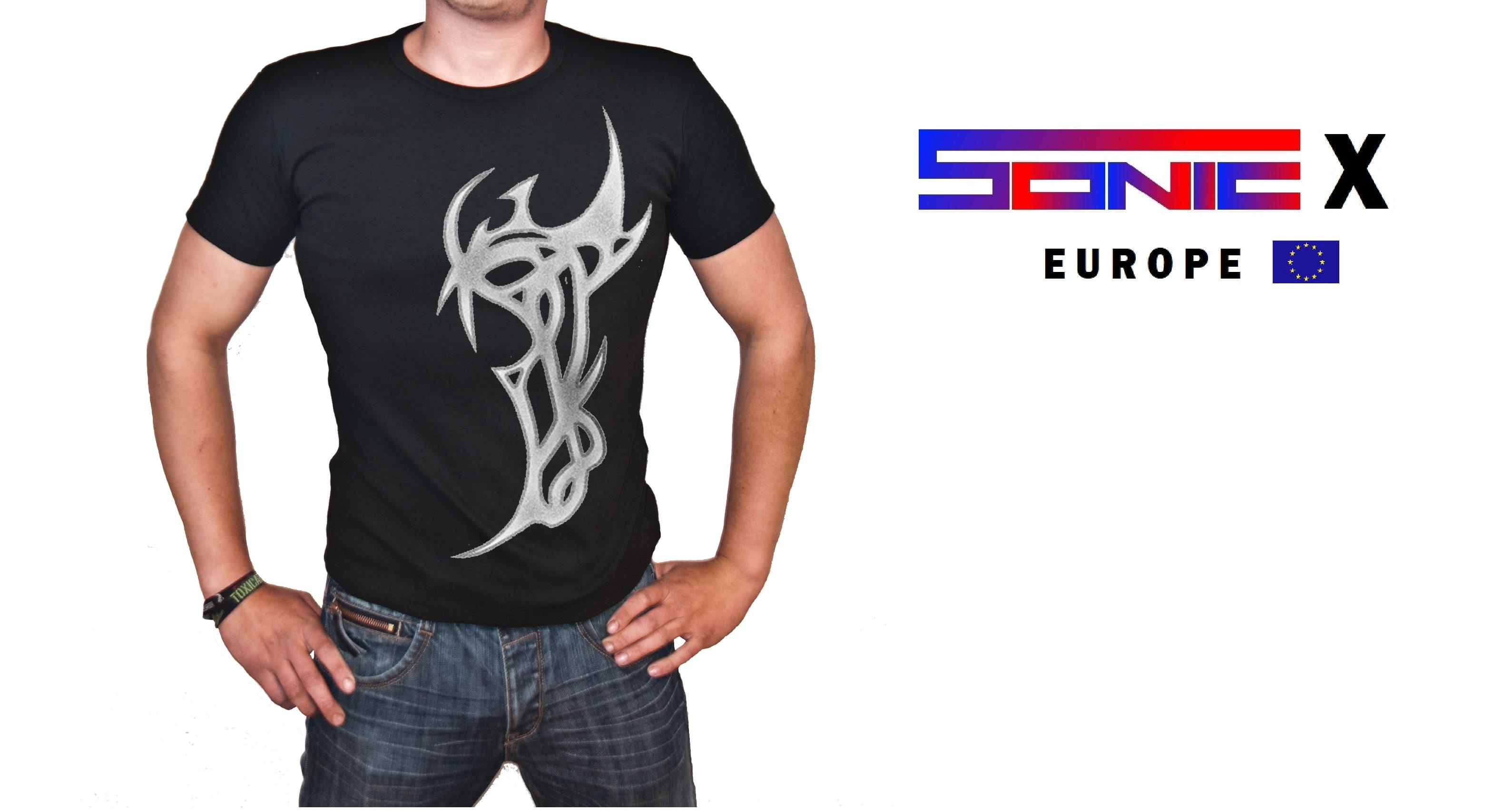 """T-Shirt von SONIC X Model """" TATTOO ONE"""""""