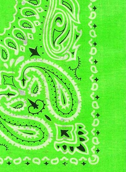 Bandana Halstuch von HYPER X in Neongrün