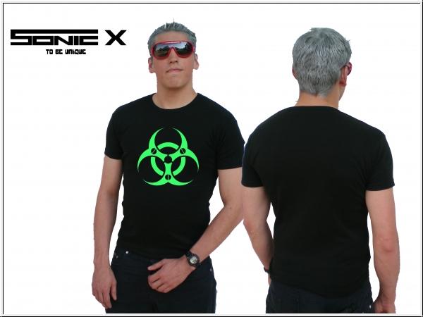 """T-Shirt von SONICX Model  """"BIOHAZARD CYBER"""""""