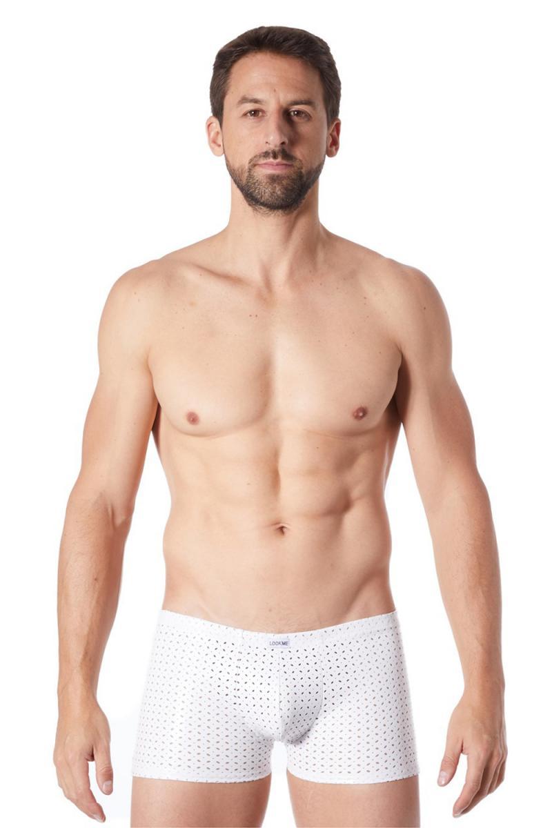 Weisse Herren BOXER SHORT TENDER  von LookMe im Gaywear Style