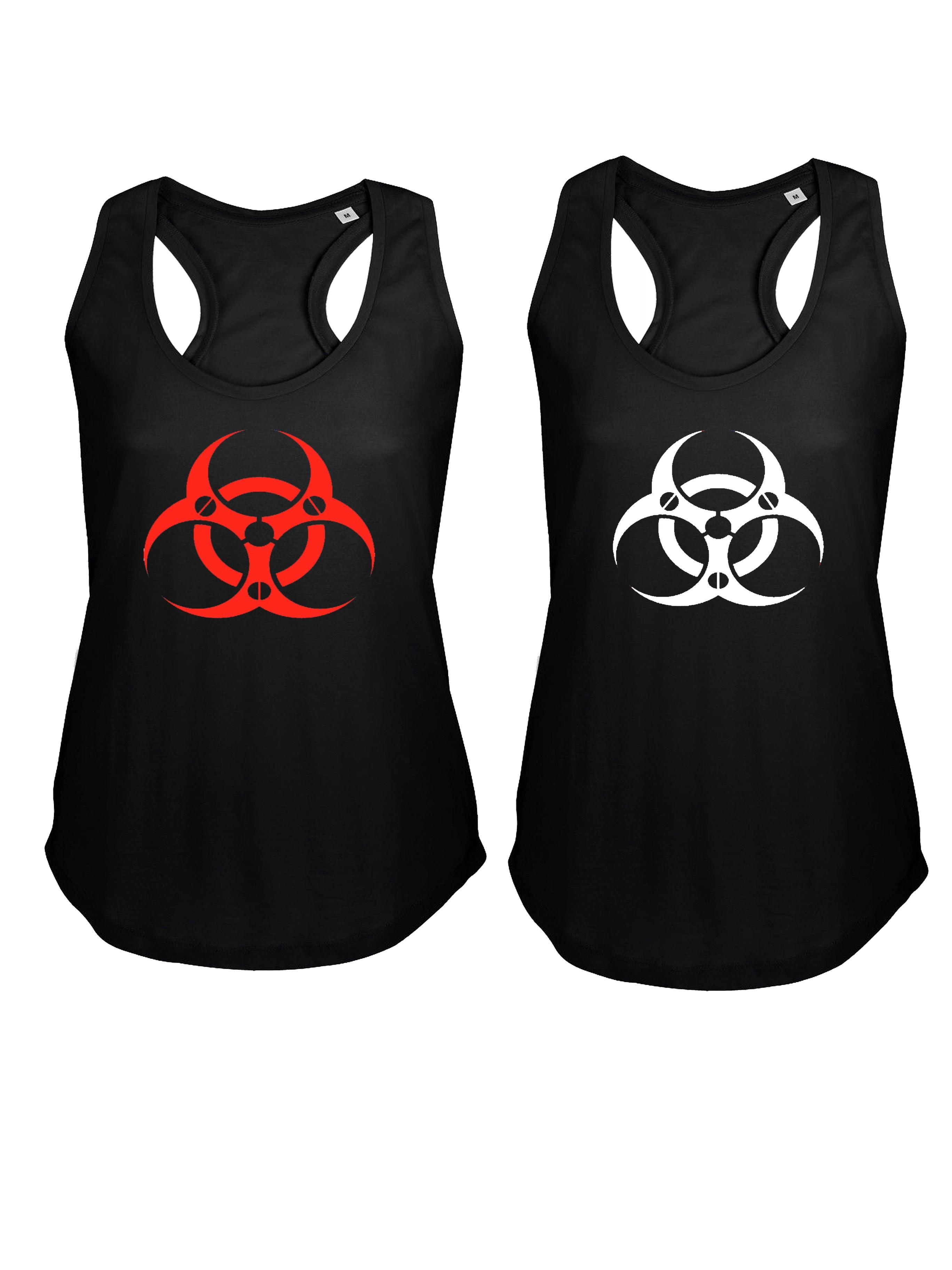 """Women Tank Top von HYPER X Model """"Biohazard Cyber"""" in verschiedenen Farbkombinationen"""
